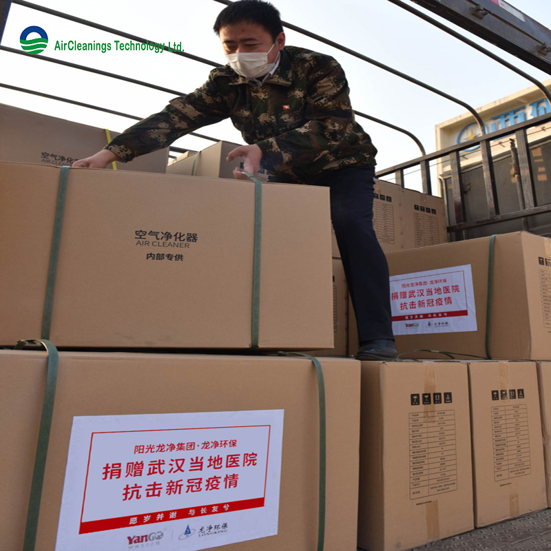 Supplies donated by Longking arrived at Wuhan